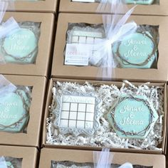 Love these Save the Date Cookies (I Dream of Cookies)