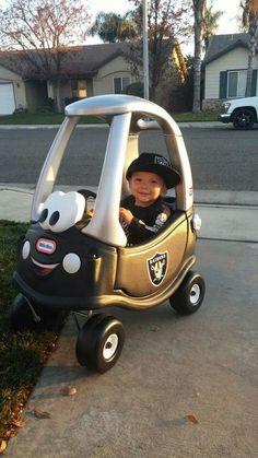 Im gonna make a Raider car for my grand baby!