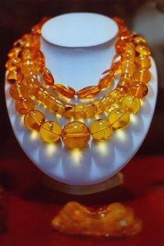 Amber from Latvia... is known as Amber Land. (Physical strength, blood flow, flow of breath/chest)