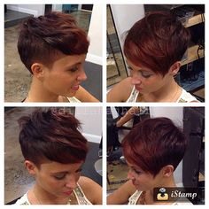 The Short Pixie Cut - 58 Great Haircuts You'll See for 2019 - Hairstyles Trends Morena Pixie, Superkurzer Pixie, Curly Pixie Cuts, Pelo Pixie, Short Pixie, Short Hair Cuts, Girl Haircuts, Little Girl Hairstyles, Pixie Hairstyles