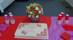 the cake and cupcake bouquet.