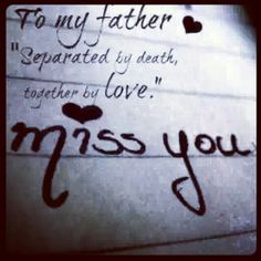 My dad ♥ and to my 3Angels' dad -- forever in our hearts & memories of you live on...