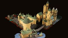 Alice Finch recreated Hogwarts from the beloved Harry Potter books with LEGOs. via My Modern Met: A Seattle mom has brought the beloved Hogwarts School of Witchcraft and Wizardry to life wi… Lego Harry Potter, Harry Potter Film, Harry Potter Magie, Harry Potter Hogwarts, Lego Hogwarts, Alice, Chateau Lego, Chat Origami, Thor Y Loki