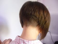 Very short haircut with tapered nape and sides, Easy to do and chic short hairstyle with a layered top. Description from besttoddlertoys.eu. I searched for this on bing.com/images