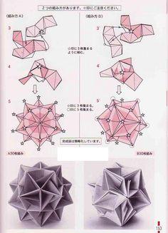 Adobrasia: Diagrama Do Kusudama Losango