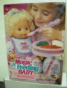 "Tyco ""Magic"" Baby Dolls - 1990s"