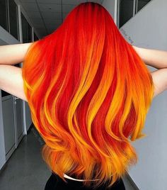 This Girl is on Fire Red hair Discoveries Haar ombre This Girl is on Fir. - This Girl is on Fire Red hair Discoveries Haar ombre This Girl is on Fire Red hair Discover - Bold Hair Color, Cute Hair Colors, Pretty Hair Color, Beautiful Hair Color, Hair Dye Colors, Bright Colored Hair, Red Color, Bright Hair Colors, Bold Colors