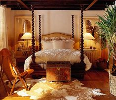 "Ralph Lauren Home Archives, ""Sheltering Sky"" collection, Bedroom, 2003"