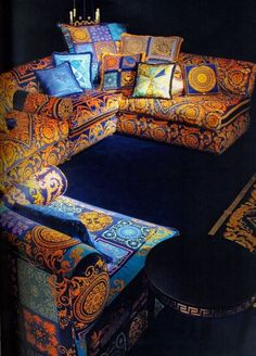 Image Result For Bubble Versace Couch Decor