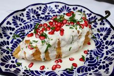 Rick Bayless's Chiles en Nogada from Mexico