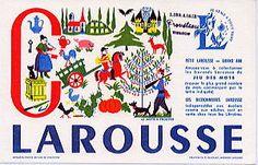 LAROUSSEビュバー(C)/フランスアンティーク雑貨 - ヨーロッパ雑貨プロムナード