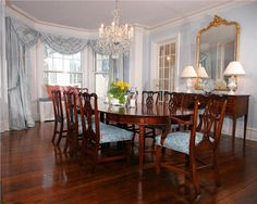 Traditional (Victorian, Colonial) Dining Room by Jo Ann Alston, CID, Allied ASID
