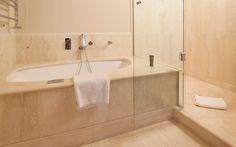 Bargello Suite Bathroom  http://www.hotelbrunelleschi.it