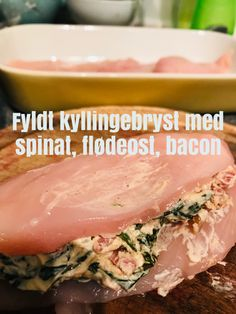 Pollo Chicken, Baked Chicken, Chicken Recipes, Low Carb Recipes, Healthy Recipes, Danish Food, Fish And Meat, Breakfast Snacks, No Cook Meals