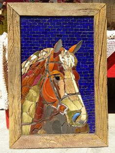 Mosaic art by Solange Piffer
