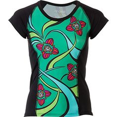Moxie Cycling Color Block Jersey - Short-Sleeve - Women s  Emerald Black Coral af4293b8b