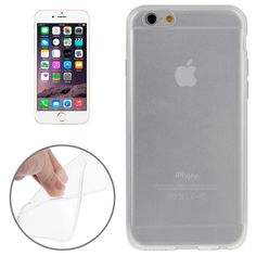 [USD0.73] [EUR0.66] [GBP0.52] Smooth Surface TPU Case for iPhone 6 & 6S(Transparent)