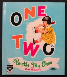 ''ONE TWO BUCKLE MY SHOE'' Whitman 1951 | eBay