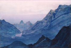 Studies of the Himalayas, Nicholas Roerich
