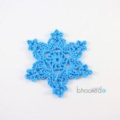 Crochet Snowflakes  /  Pretty to hang on Christmas Tree!