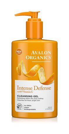 Avalon Organics Intense Defense Cleansing Gel, 8.5 Fluid Ounce(pack of 1) >>> Visit the image link more details.