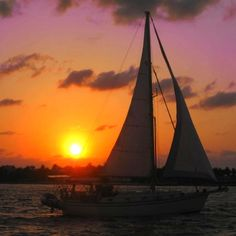 Sunset in Key West, Florida!