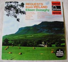 Vintage vinyl Requests From Ireland Eileen Donaghy 12 inch Album 1960 Irish Songstress Folk Music traditional songs Ceilidh set dancing by TheIrishBarn on Etsy