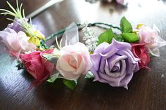 DIY flower crowns - wire, hot glue guns, fake flowers and headbands and the possibilities are endless! ~Lace and Buckles~