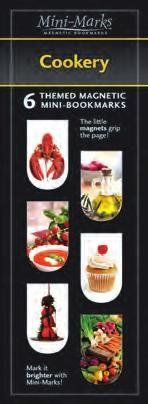"""Great to use in Cookbooks! Magnetic Mini-Bookmark """"Cookery"""" by That Company Called If http://smile.amazon.com/dp/B002YTI3O0/ref=cm_sw_r_pi_dp_n5bfxb0W1AYRZ"""