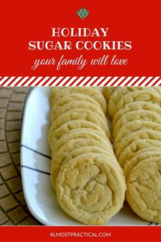 Easy powdered sugar cookie recipes