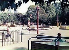 Victoria Park Bethnal Green, my playground as a child. 1970s Childhood, My Childhood Memories, Sweet Memories, Bethnal Green, I Remember When, Teenage Years, Color Photography, Back In The Day, Growing Up