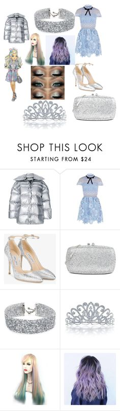 """Untitled #125"" by jasmine-stepter on Polyvore featuring Off-White, self-portrait, Jimmy Choo, Love Moschino, DANNIJO, Bling Jewelry and WithChic"