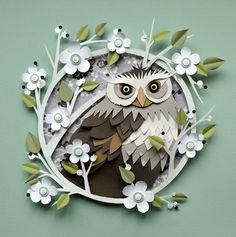 Owl: A World of Paper: Artist Helen Musselwhite