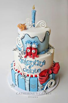 Satin Ice fondant icing is an essential, allergy free, cake decorating tool to make custom wedding, birthday & holidays cakes, cookies & cupcakes. Dr Seuss Cake, Dr Suess, Character Cakes, Just Cakes, Holiday Cakes, Occasion Cakes, Cakes For Boys, Piece Of Cakes, Fancy Cakes