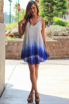 """This tunic look is perfect! Great for summer. Shop NanaMacs.com to get your """"Look At The Fire In My Eyes Tunic Top (R. Blue)"""" http://www.nanamacs.com/look-at-the-fire-in-my-eyes-tunic-top-r-blue/"""