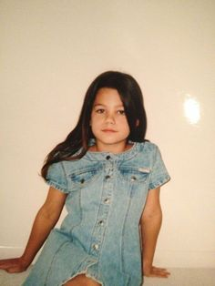 My love for denim, however, did not stick past age 7 #tbt