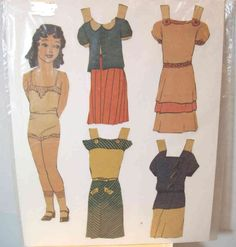 US $4.99 Used in Dolls & Bears, Paper Dolls, Vintage
