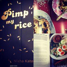 Cuberdon&Macaron kookt uit 'Pimp my rice' van uitgeverij Good Cook!