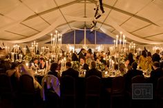 elegant tent | Christian Oth #wedding