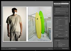 Adobe Lightroom Tutorial: screen capture of diptych settings.  © Jay Watson Photography