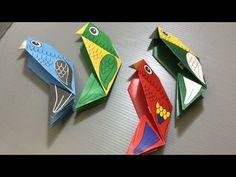 PAPAGAIOS PARA IMPRIMIR Animais | origami happypuppytruffles