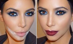 Kim Kardashian's make-up artist reveals SANDBAGGING is the latest lipstick technique | Daily Mail Online