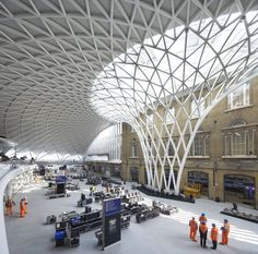 """Built by John McAslan + Partners in London, United Kingdom with date 2012. Images by Phil Adams. """"The transformation of King's Cross station by John McAslan + Partners (JMP) represents a compelling piece of place-m..."""