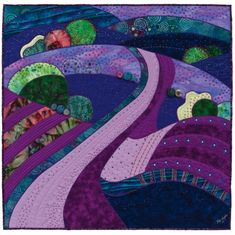 Dream Landscapes: Artful Quilts with Fast-piece Applique That Patchwork Place: Amazon.co.uk: Rose Hughes: Books