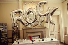 An After Show Party Themed Rock n Roll Wedding: Brett & Vicky