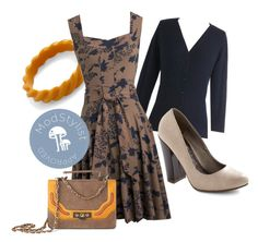 Guest of Honor Dress by modcloth on Polyvore featuring Effie's Heart, POL, And Mary, BB Dakota and INDIE HAIR