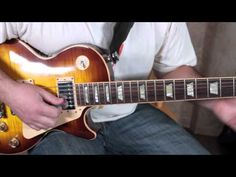 Jimmy Page and Led Zeppelin Inspired Blues Rock Lick - Blues Guitar Lessons - Minor Blues Licks - YouTube