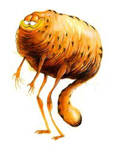 Icans, Artist Alex Pardee Re-Imagines Iconic Pop Culture Characters Alex Pardee, Monster Illustration, Illustration Art, Creepy Images, Creepy Art, Lowbrow Art, Sleepy Cat, Pop Surrealism, Iconic Characters