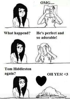 Tom Hiddleston ~ Oh Yes! ♥