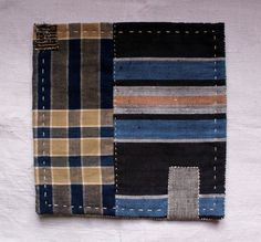 hand sewn table mat trivet pot holder in antique by lesamovar, €17.00